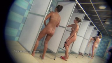Female volleyball team naked in shower free video