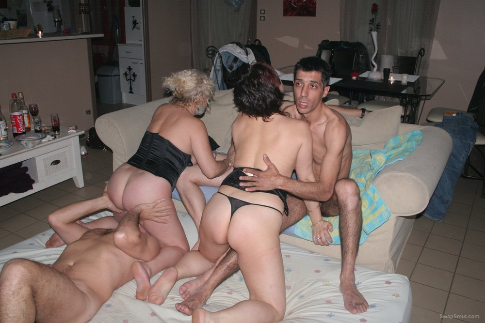 Amateur mature wife swapping orgy