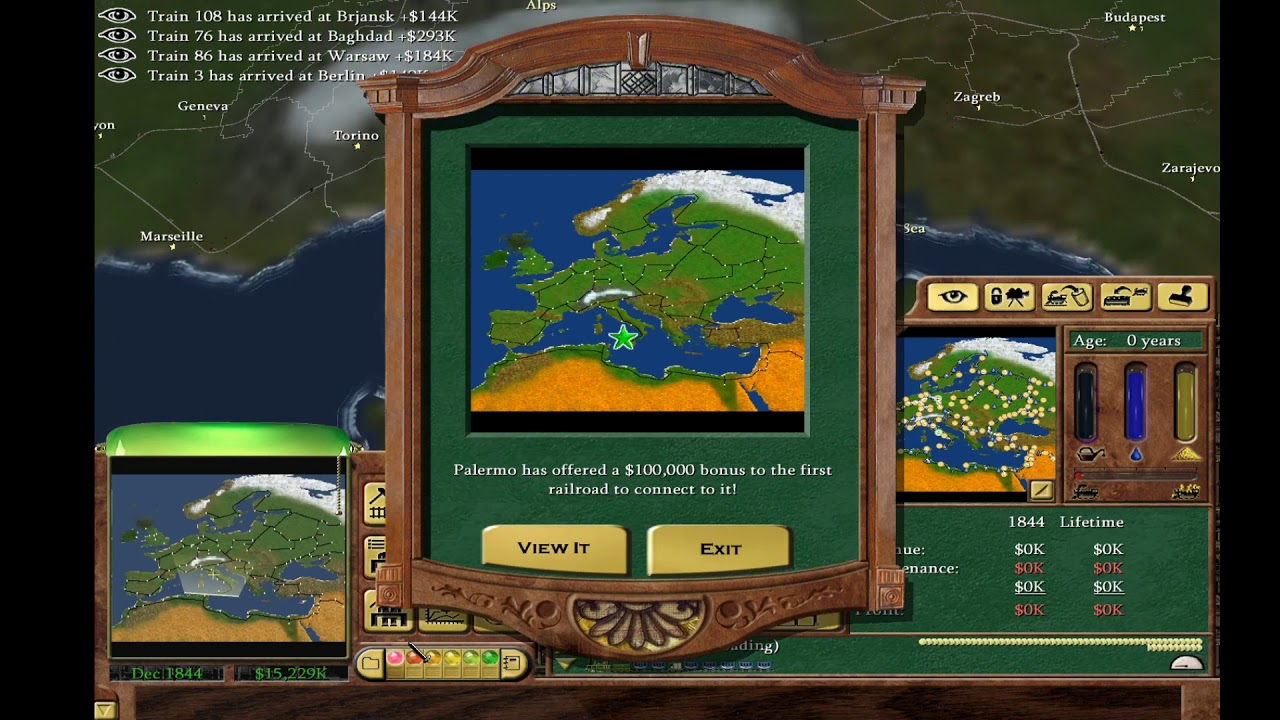 Lets play railroad tycoon 3