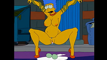 Marge and homer anal sex